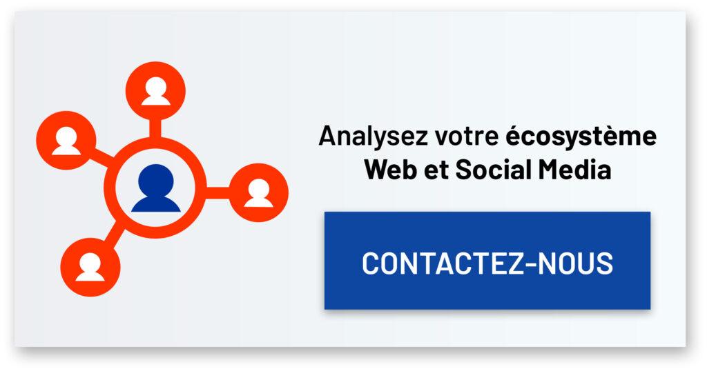 Affiche contacte de l'agence pour SEO