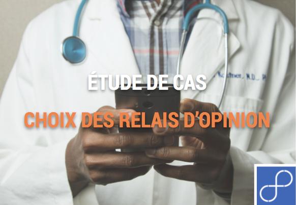 Image présentation article, médecin e-santé qui tient un téléphone portable